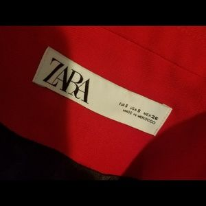 Zara Jackets & Coats - NWT RED ZARA BLAZER